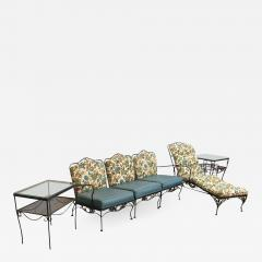 Russell Woodard Mid Century Modern Hollywood Glam Russell Woodard Patio or Garden Patio Set 9 - 617261