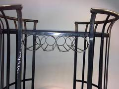 Russell Woodard Style of Russell Woodard Flat Band Steel Bar Cart - 415538