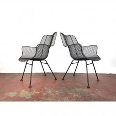 Russell Woodard Woodard Furniture 1950s Sculptura Chairs by Russell Woodard a Pair - 1753949
