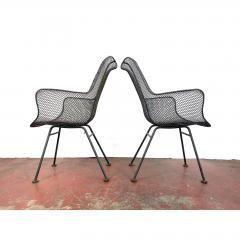 Russell Woodard Woodard Furniture 1950s Sculptura Chairs by Russell Woodard a Pair - 1753950