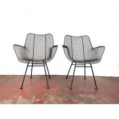 Russell Woodard Woodard Furniture 1950s Sculptura Chairs by Russell Woodard a Pair - 1753951