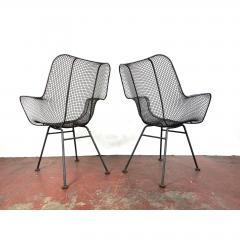 Russell Woodard Woodard Furniture 1950s Sculptura Chairs by Russell Woodard a Pair - 1753953