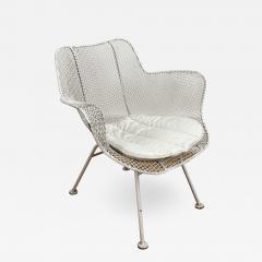 Russell Woodard Woodard Furniture Four Russell Woodard sculptura chairs with arm rest - 1468653