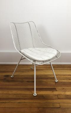 Russell Woodard Woodard Furniture Four Woodard sculptura chairs - 1467845