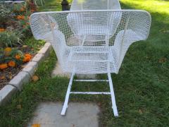 Russell Woodard Woodard Furniture Pair of Russell Woodard Sculptura Springer Patio Lounge Chairs Midcentury - 1402607