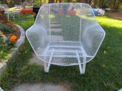 Russell Woodard Woodard Furniture Pair of Russell Woodard Sculptura Springer Patio Lounge Chairs Midcentury - 1402608