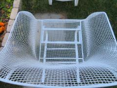 Russell Woodard Woodard Furniture Pair of Russell Woodard Sculptura Springer Patio Lounge Chairs Midcentury - 1402609