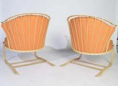 Russell Woodard Woodard Furniture Russell Woodard Cantilever Patio Lounge Chairs - 1274134