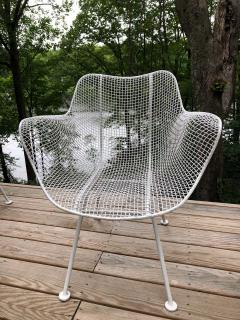 Russell Woodard Woodard Furniture Set of 6 Mid Century Modern Wire Mesh Sculptura Dining Chairs by Russell Woodard - 1736664