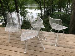 Russell Woodard Woodard Furniture Set of 6 Mid Century Modern Wire Mesh Sculptura Dining Chairs by Russell Woodard - 1736671