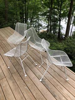 Russell Woodard Woodard Furniture Set of 6 Mid Century Modern Wire Mesh Sculptura Dining Chairs by Russell Woodard - 1736678