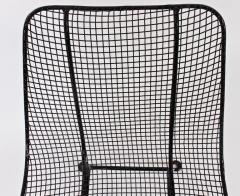 Russell Woodard Woodard Furniture Set of Four Russell Woodard Sculptura Black Lanai Side Chairs 1950s - 1583441