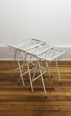 Russell Woodard Woodard Furniture Woodard Sculptura low table set - 1467852