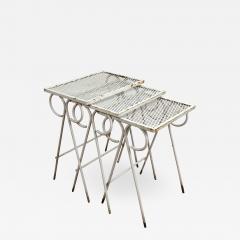 Russell Woodard Woodard Furniture Woodard Sculptura low table set - 1468656