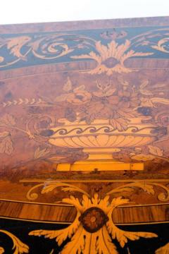 Russian 19th Century Marquetry Game Table 1820 - 1636876