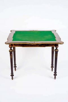 Russian 19th Century Marquetry Game Table 1820 - 1636877