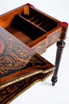 Russian 19th Century Marquetry Game Table 1820 - 1636885