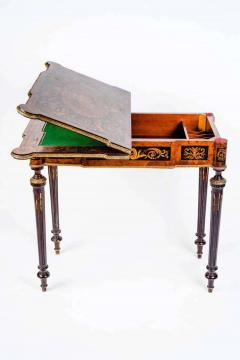 Russian 19th Century Marquetry Game Table 1820 - 1636889