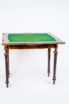 Russian 19th Century Marquetry Game Table 1820 - 1636890