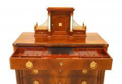 Russian 19th c Neoclassic Secretaire Commode - 741642