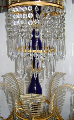 Russian Bronze and Crystals Chandelier - 657300