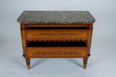 Russian Neoclassical Commode with Marble Top - 1206454