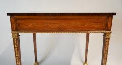 Russian Neoclassical Parcel Gilt Satinwood and Marquetry Side Table circa 1785 - 789530