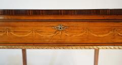 Russian Neoclassical Parcel Gilt Satinwood and Marquetry Side Table circa 1785 - 789531