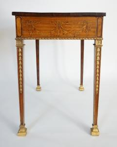 Russian Neoclassical Parcel Gilt Satinwood and Marquetry Side Table circa 1785 - 789534