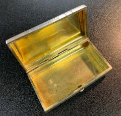 Russian Sterling Gold Box - 1725751
