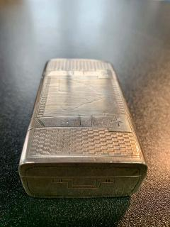 Russian Sterling Gold Box - 1725754