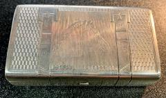 Russian Sterling Gold Box - 1725756