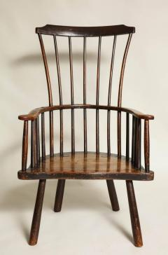 Rustic 18th Century English Windsor Armchair - 662831