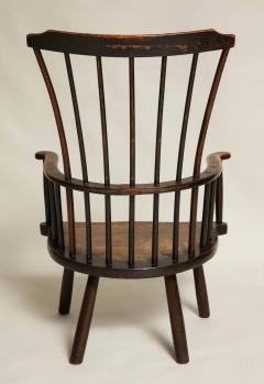 Rustic 18th Century English Windsor Armchair - 662834