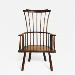 Rustic 18th Century English Windsor Armchair - 663021