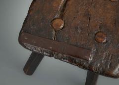Rustic 18th Century Stool - 1131783