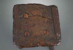 Rustic 18th Century Stool - 1131785