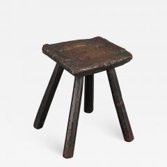Rustic 18th Century Stool - 1132331
