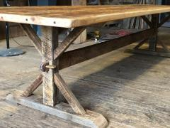 Rustic Farm Table 11 5 Long - 1200849