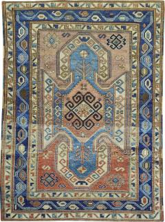 Rustic Kazak Rug rug no j1870 - 1509385