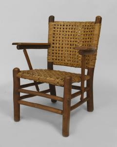 Rustic Old Hickory Arm Chair - 558578