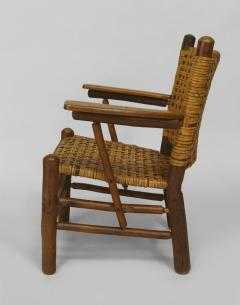 Rustic Old Hickory Arm Chair - 558579