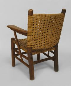 Rustic Old Hickory Arm Chair - 558580