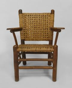 Rustic Old Hickory Arm Chair - 558581