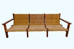 Rustic Sofa circa 1970 Spain - 1973656