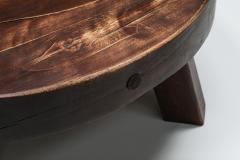 Rustic Wabi Sabi Solid Wood Coffee Table 1960s - 2133106