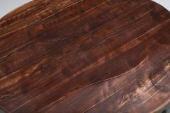 Rustic Wabi Sabi Solid Wood Coffee Table 1960s - 2133108