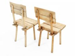 Rustic Wooden Dining Chair Four Available  - 1337319