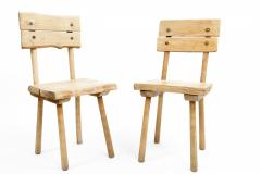 Rustic Wooden Dining Chair Four Available  - 1337322