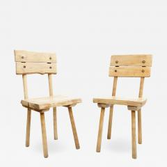 Rustic Wooden Dining Chair Four Available  - 1422556